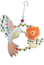 Ruby Hummingbird Ornament