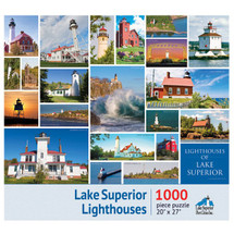 Lake Superior Lighthouses Puzzle