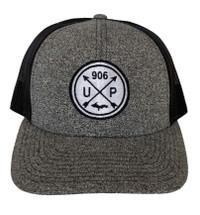 Black Heather/Black U.P. 906 Hat