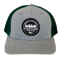 Heather Grey/Dark Green U.P. 906 Hat