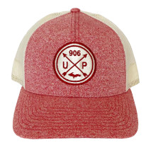 Red Heather/Birch U.P. 906 Hat