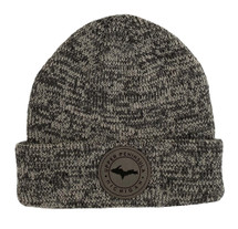 Heather Grey U.P. Leather Patch Winter Hat