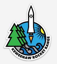 Keweenaw Rocket Range Sticker