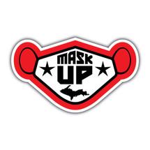 Mask UP Sticker