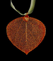 Aspen Leaf Ornament
