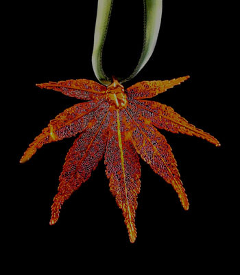 japanese maple leaf ornament copper world japanese maple leaf ornament