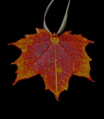 sugar maple leaf ornament copper world copper world