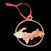 Copper Upper Peninsula Ornament