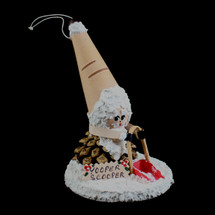 Yooper Scooper Birch Ornament