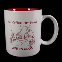Hot Coffee! Hot Sauna! Mug
