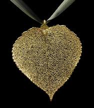 Aspen Leaf Ornament - Gold