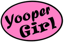 Yooper Girl Bumper Sticker