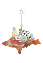 Upper Peninsula Ornament - P1465