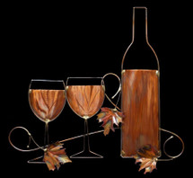 Copper Wine Wall Hanging