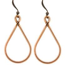 Copper Earrings - 218