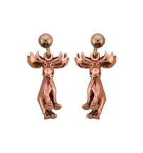 Copper Earrings - 214