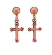 Copper Earrings - 412
