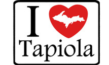 I Love Tapiola Car Magnet