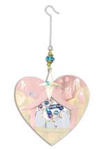 Heart Nativity Ornament - P1598