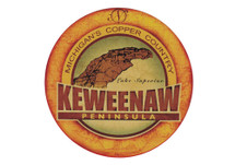 Keweenaw Peninsula Sticker