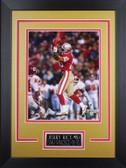 Jerry Rice Framed 8x10 San Francisco 49ers Photo (JR-P5D)