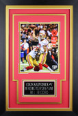 Colin Kaepernick Framed 8x10 San Francisco 49ers Photo with Nameplate (CK-P8C)