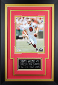 Steve Young Framed 8x10 San Francisco 49ers Photo with Nameplate (SY-P4C)