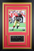 Patrick Willis Framed 8x10 San Francisco 49ers Photo with Nameplate (PW-P2C)