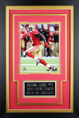 Frank Gore Framed 8x10 San Francisco 49ers Photo with Nameplate (FG-P4C)