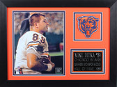 Mike Ditka Framed 8x10 Chicago Bears Photo (MD-P2B)