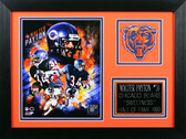 Walter Payton Framed 8x10 Chicago Bears Photo (WP-P3B)