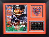 Gayle Sayers Framed 8x10 Chicago Bears Photo (GS-P4B)