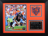 Brian Urlacher Framed 8x10 Chicago Bears Photo (BU-P2B)