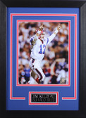 Jim Kelly Framed 8x10 Buffalo Bills Photo (JK-P4D)