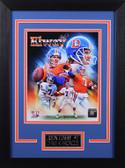 John Elway Framed 8x10 Denver Broncos Photo (JE-P2D)