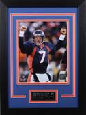 John Elway Framed 8x10 Denver Broncos Photo (JE-P4D)