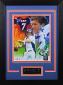 John Elway Framed 8x10 Denver Broncos Photo (JE-P5D)