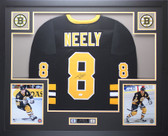 Cam Neely Autographed & Framed Black Boston Boston Bruins Jersey JSA COA