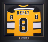 Cam Neely Autographed & Framed Yellow Boston Boston Bruins Jersey JSA COA