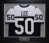 Sean Lee Autographed & Framed Thanksgiving Day Dallas Cowboys Jersey JSA COA