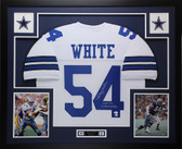 Randy White Autographed HOF 94 and Framed White Cowboys Jersey Auto JSA COA (D1-L)