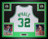 Kevin McHale Autographed and Framed White Boston Celtics Jersey Auto MM COA