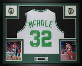 Kevin McHale Autographed & Framed White Boston Celtics Jersey Auto JSA COA