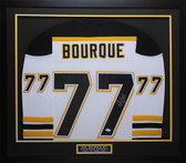 Ray Bourque Autographed & Framed White Boston Bruins Jersey JSA COA