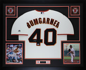 Madison Bumgarner Autographed & Framed Cream San Francisco Giants Jersey Auto PSA COA