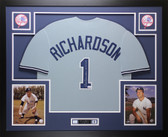 Bobby Richardson Autographed & Framed Gray New York Yankees Jersey JSA COA