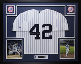 Mariano Rivera Autographed and Framed White P/S NY Yankees Steiner COA D11