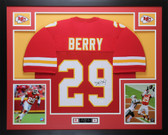 Eric Berry Autographed & Framed Red Kansas City Chiefs Jersey JSA COA