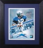Roger Staubach Framed 8x10 Dallas Cowboys Photo (RS-P3E)