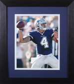 Dak Prescott Framed 8x10 Dallas Cowboys Photo (DP-P2E)